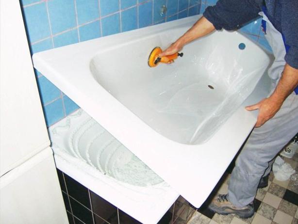 Ремонт акриловых ванн в домашних условиях своими руками 83